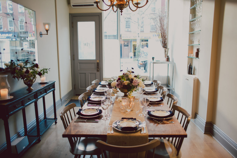PDR 1. The Private Dining Room