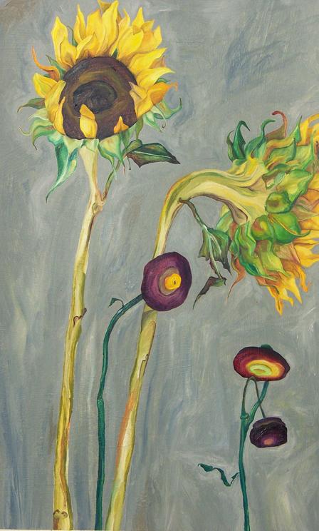 Sunflowers_2010_oil on paper_14inx26in.jpg