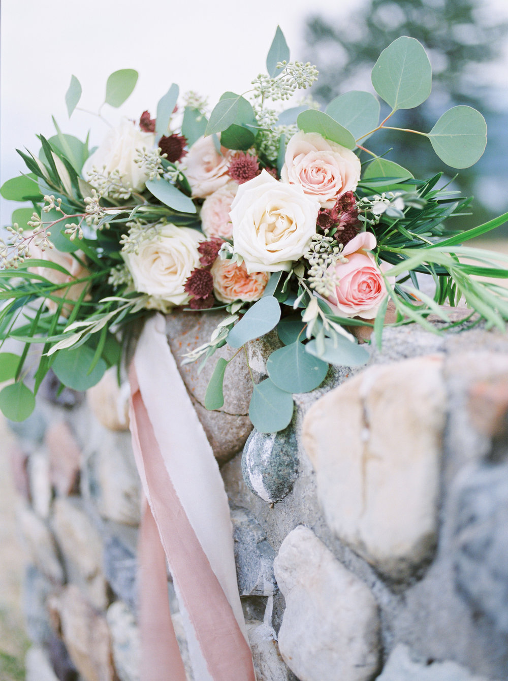Watercolor Wedding Inspiration - Featured on Bridal Musing