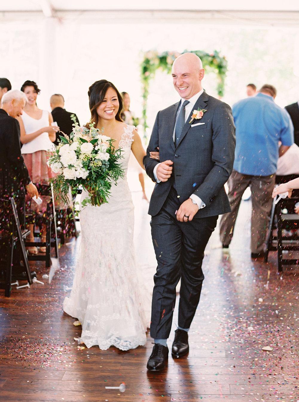 Tented Outdoors Wedding - Jenn + Marc