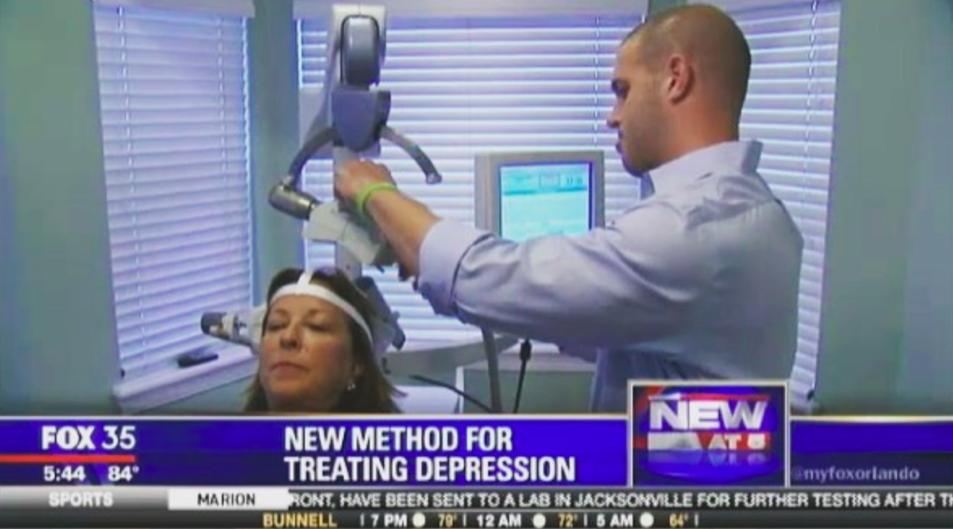 The Healing House on Fox 35 discussing TMS Therapy in Orlando