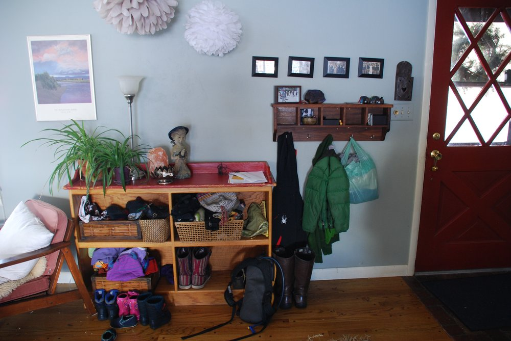 """mudroom"" before the refresh"