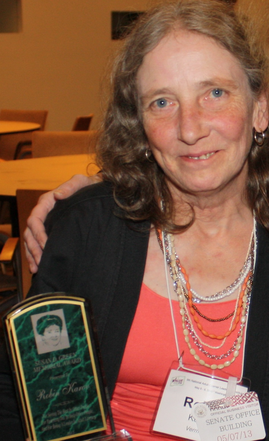 Robin Karov - 2013 Winner
