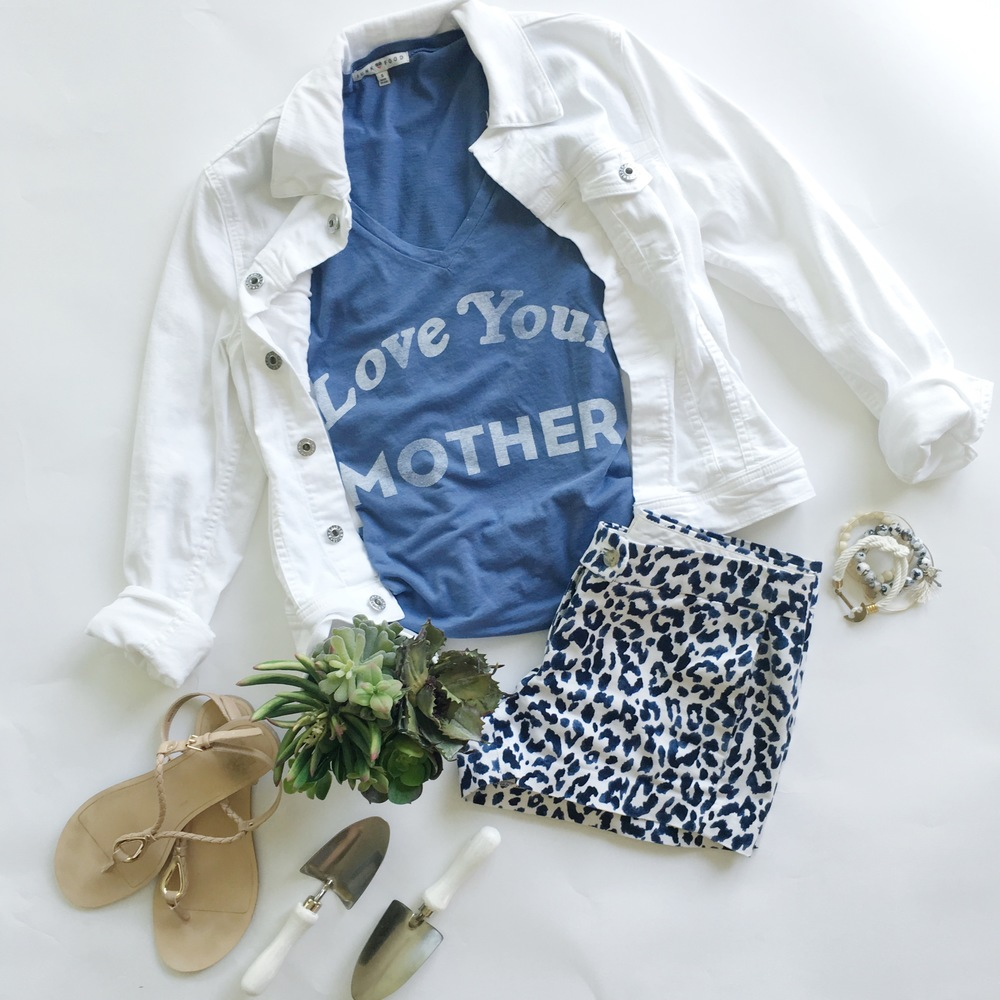 LOVE YOUR MOTHER tee $48