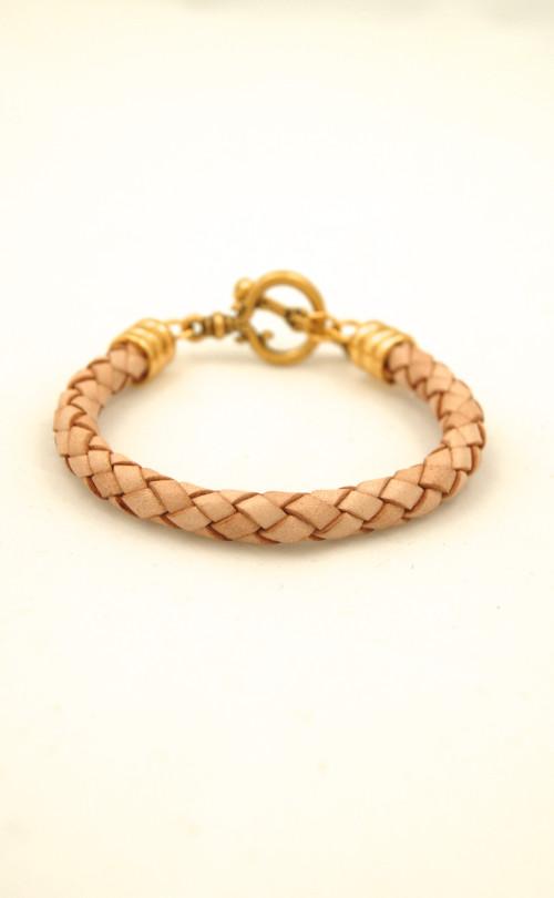 Braided Leather Bracelet $59