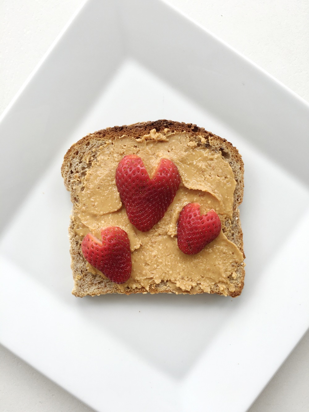 peanut butter + strawberry