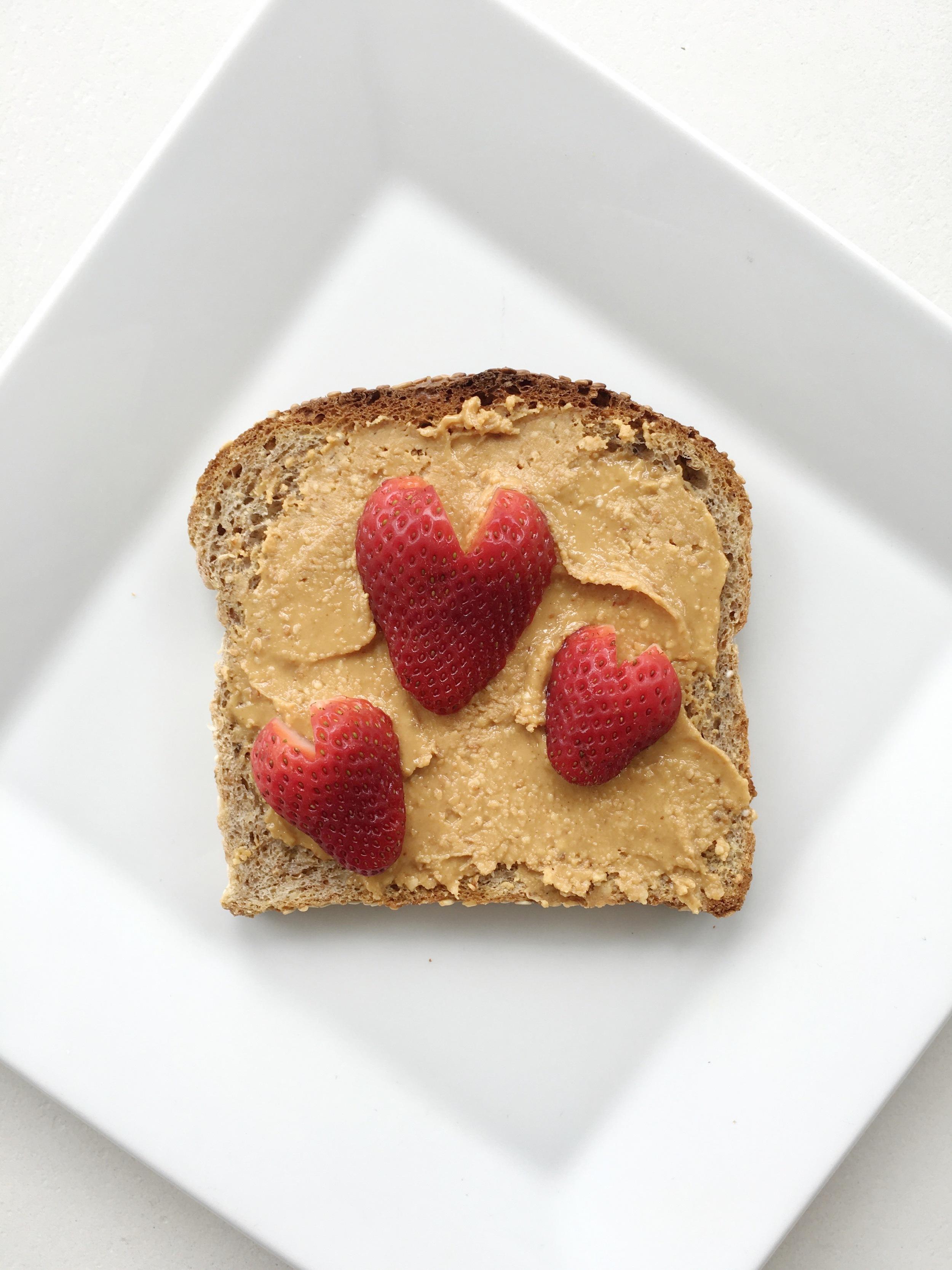 peanut butter + strawberry