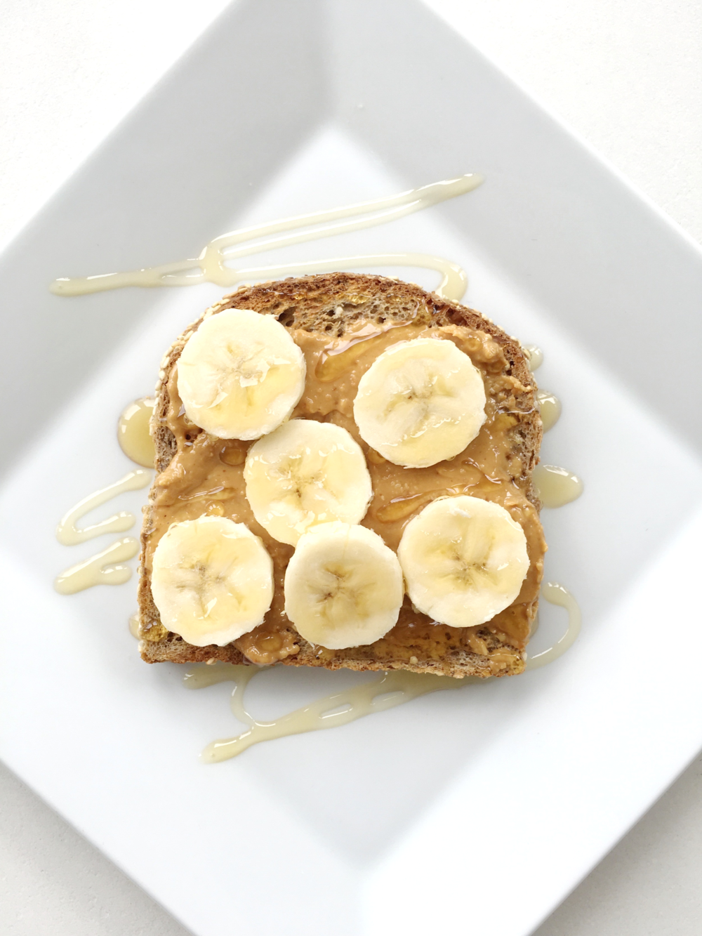 peanut butter + banana + honey