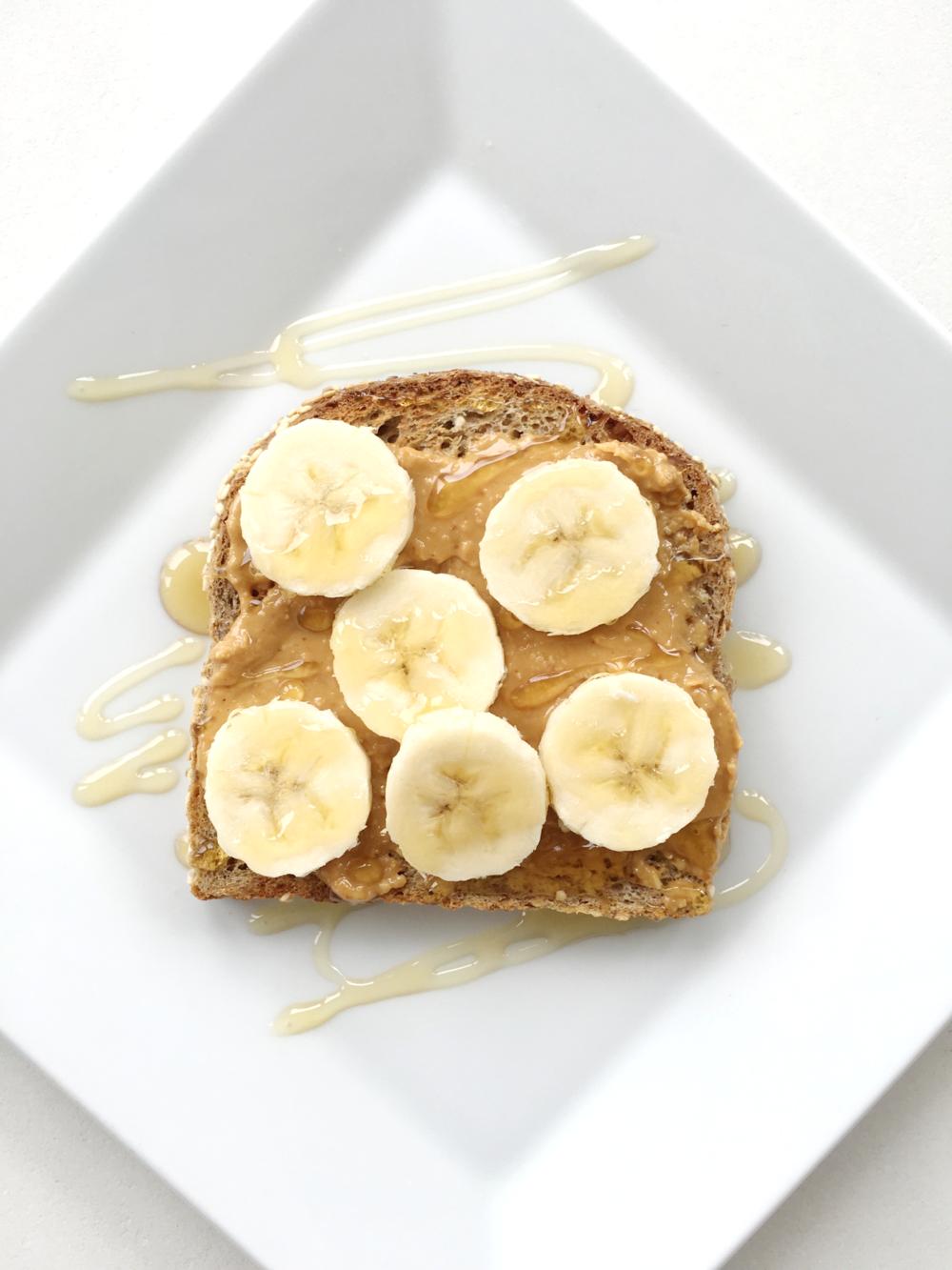 peanut butter + banana + honey