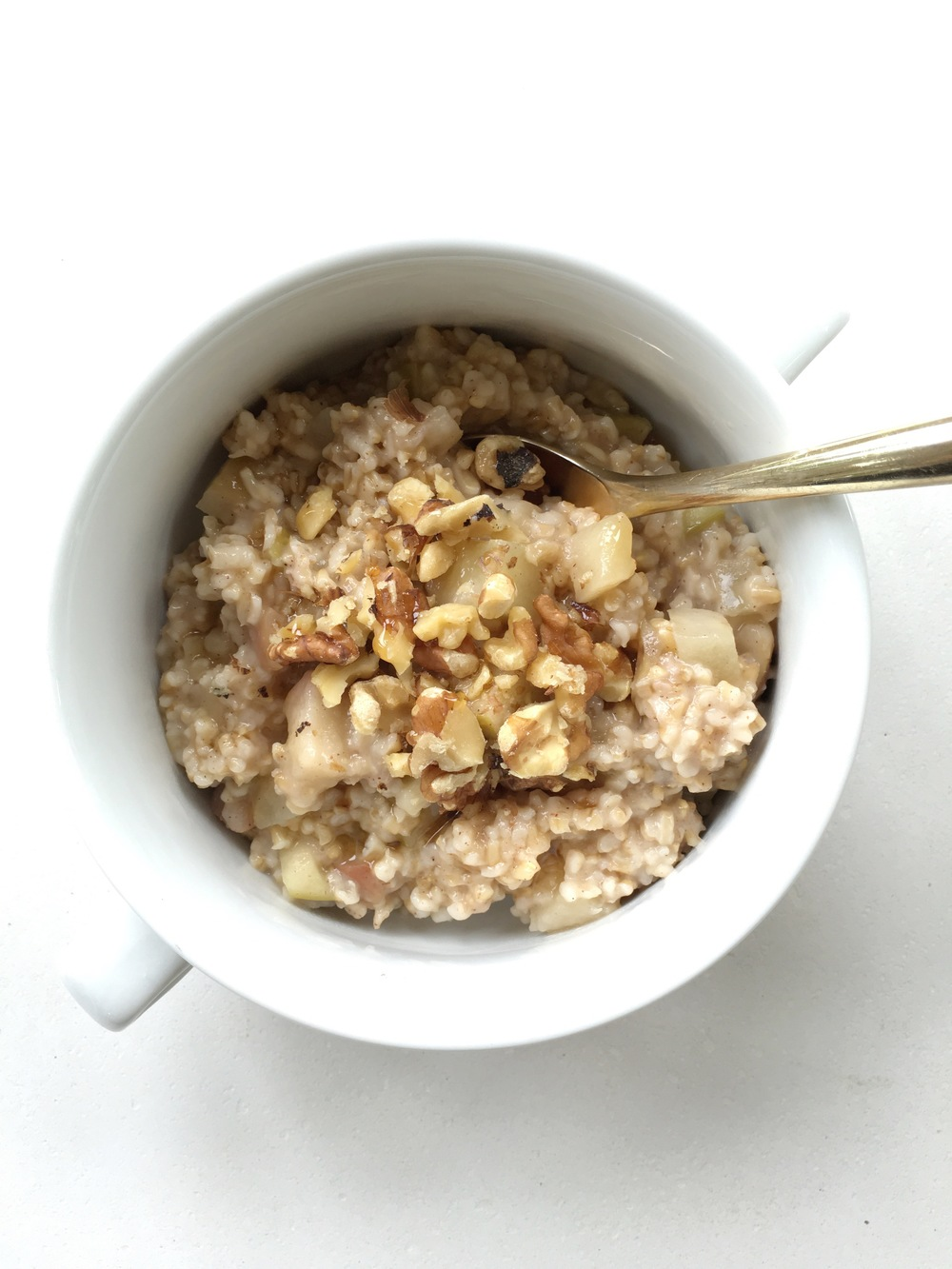 GF Overnight Walnut + Apple Spiced Oatmeal