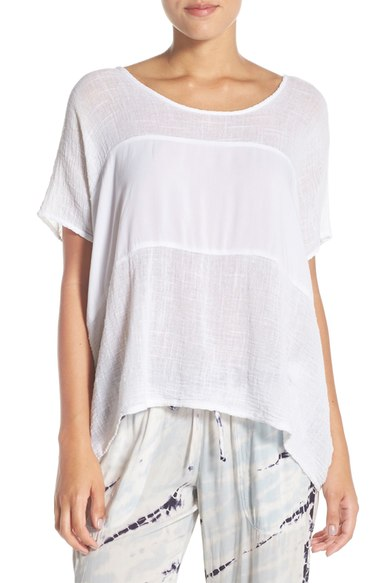 Hard Tail Slouchy Inset Tee $68