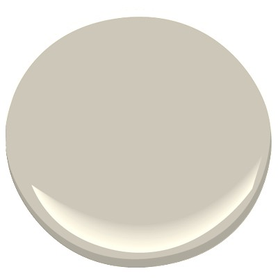 Revere Pewter- Benjamin Moore  LIVING ROOM WALLS