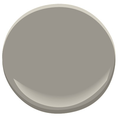 Glaveston Gray-Benjamin Moore  WALLS -PREVIOUS HOME