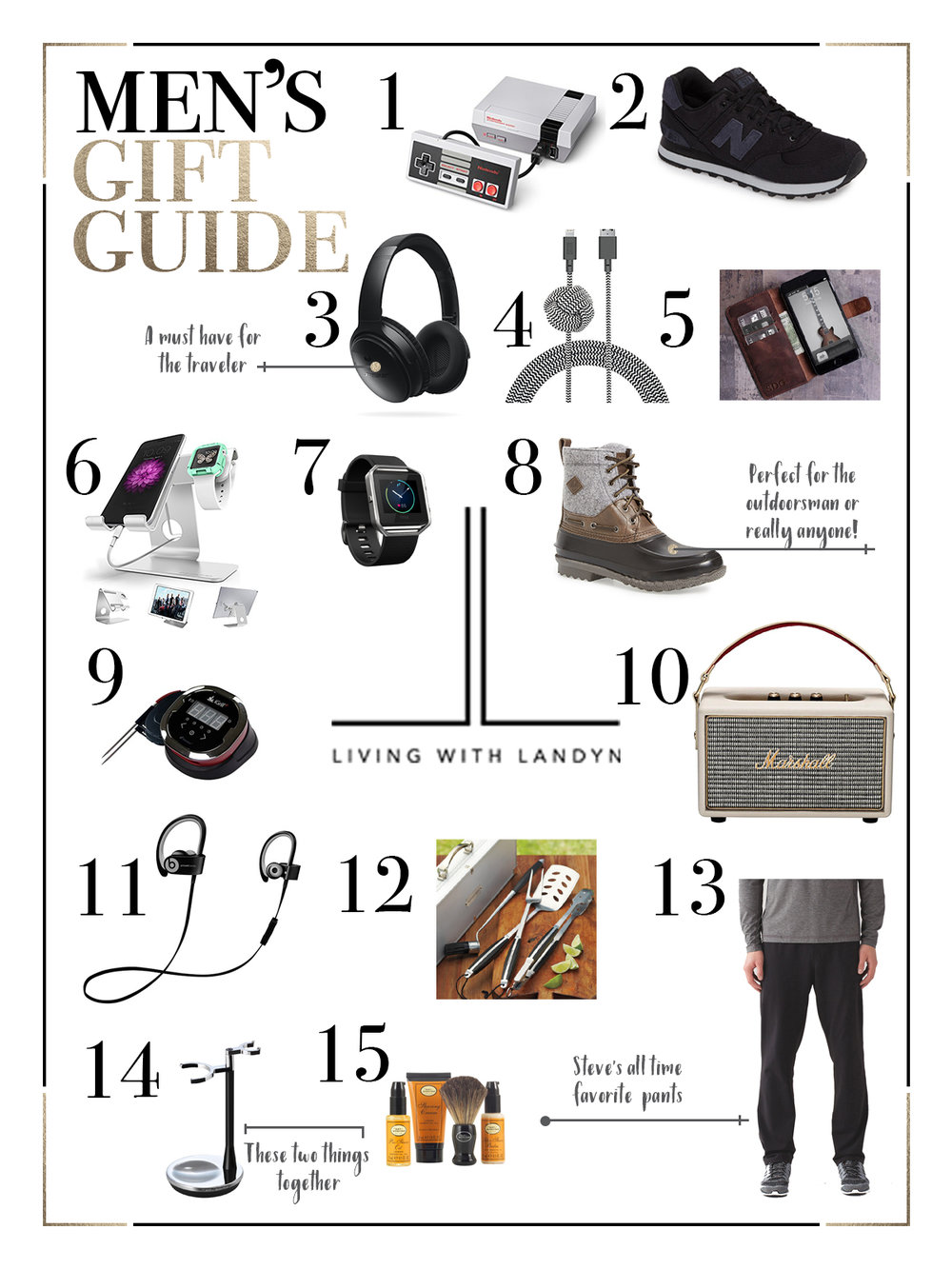 HOLIDAY GIFT GUIDE FOR MEN — Living With Landyn