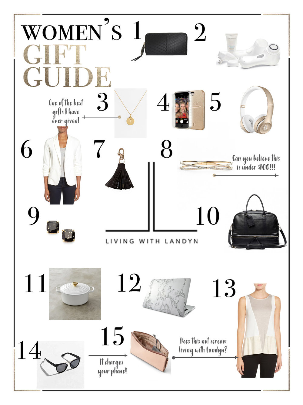 Living with Landyn Gift Guide For Women