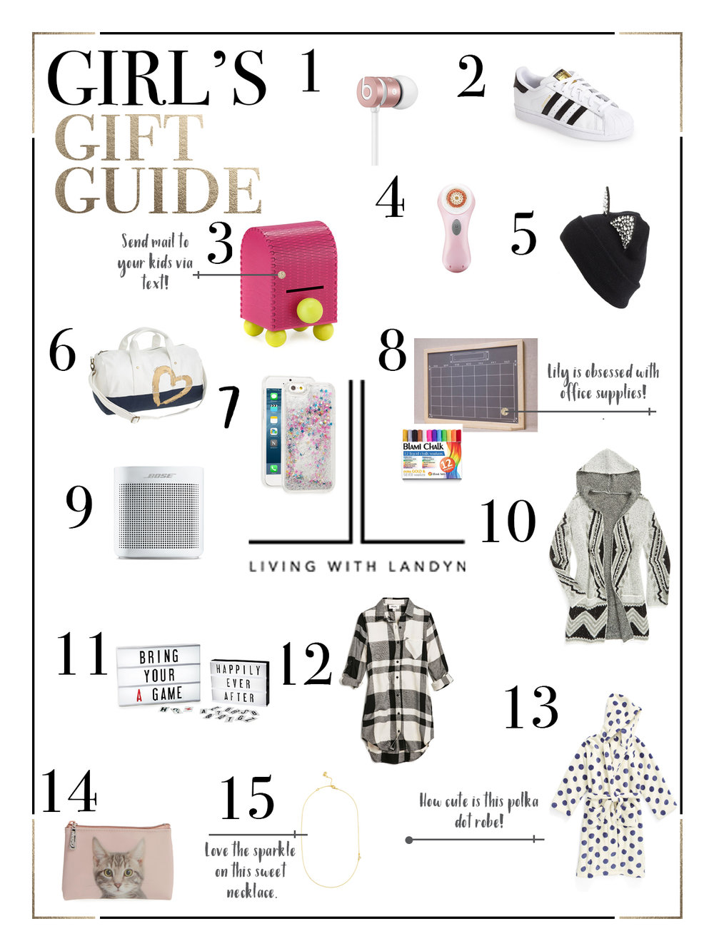 HOLIDAY GIFT GUIDE FOR TWEEN GIRLS — Living With Landyn