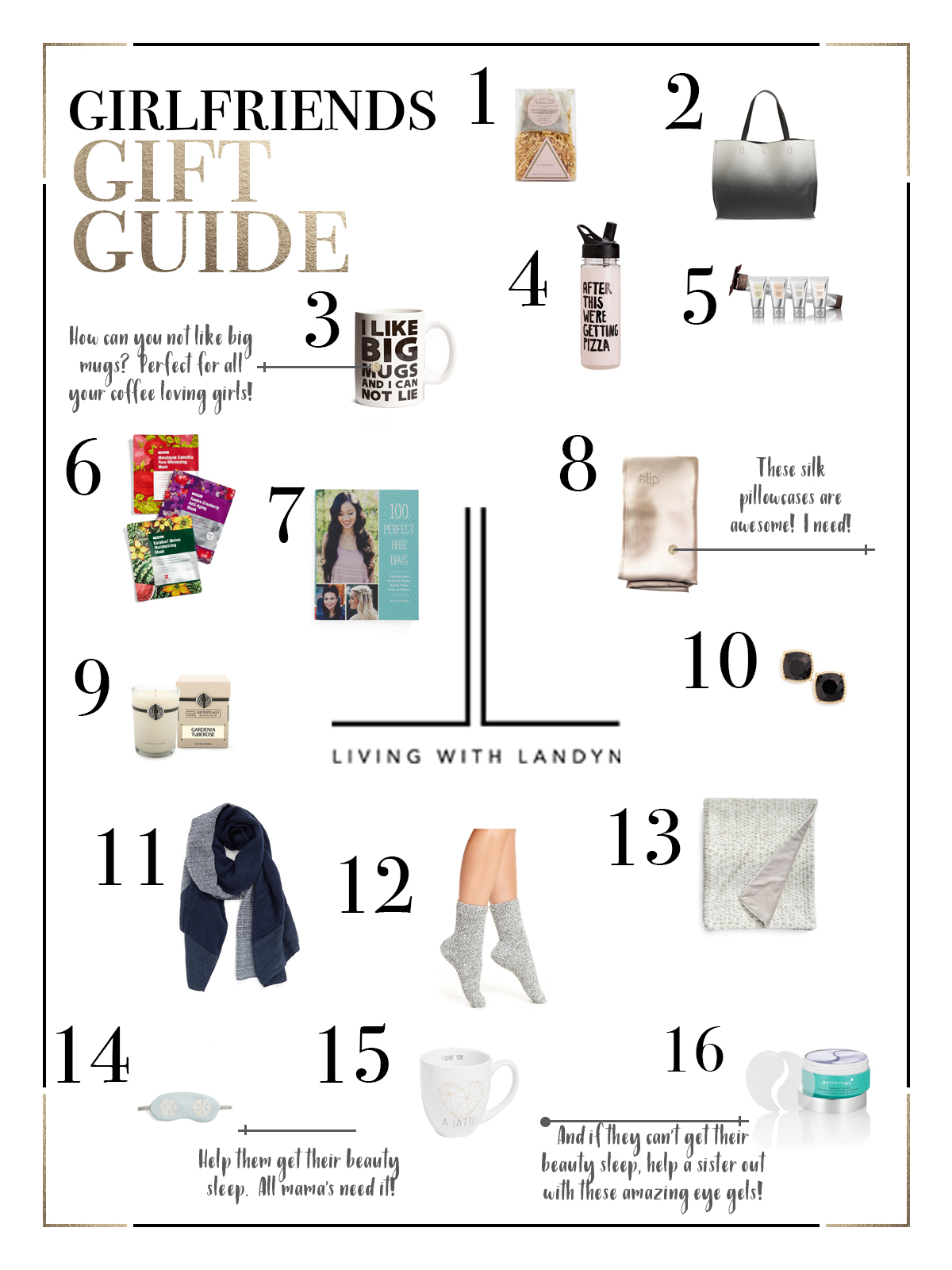 what to get your girlfriends for christmas, holiday gift guide for your girl friends