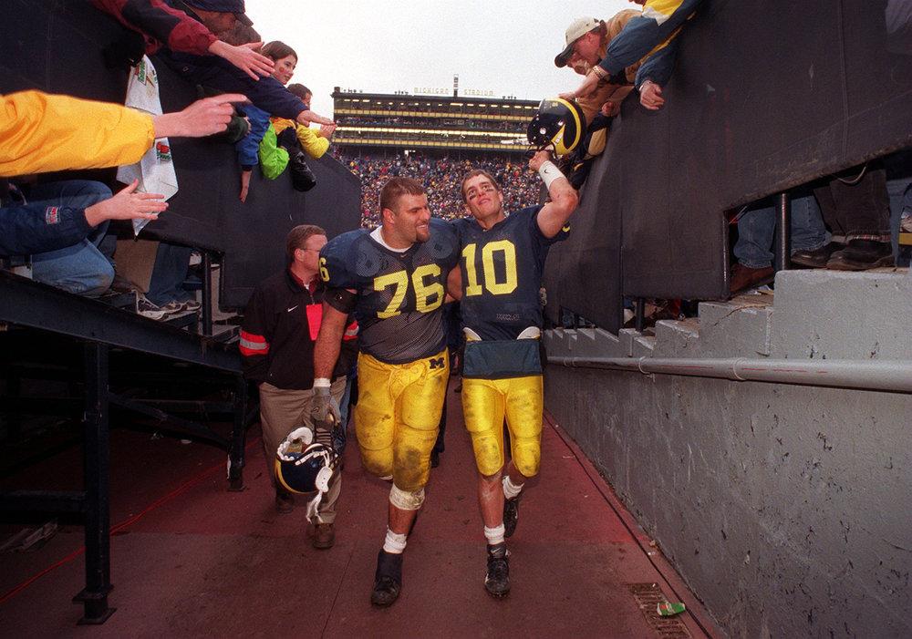 Steve + Tom Brady