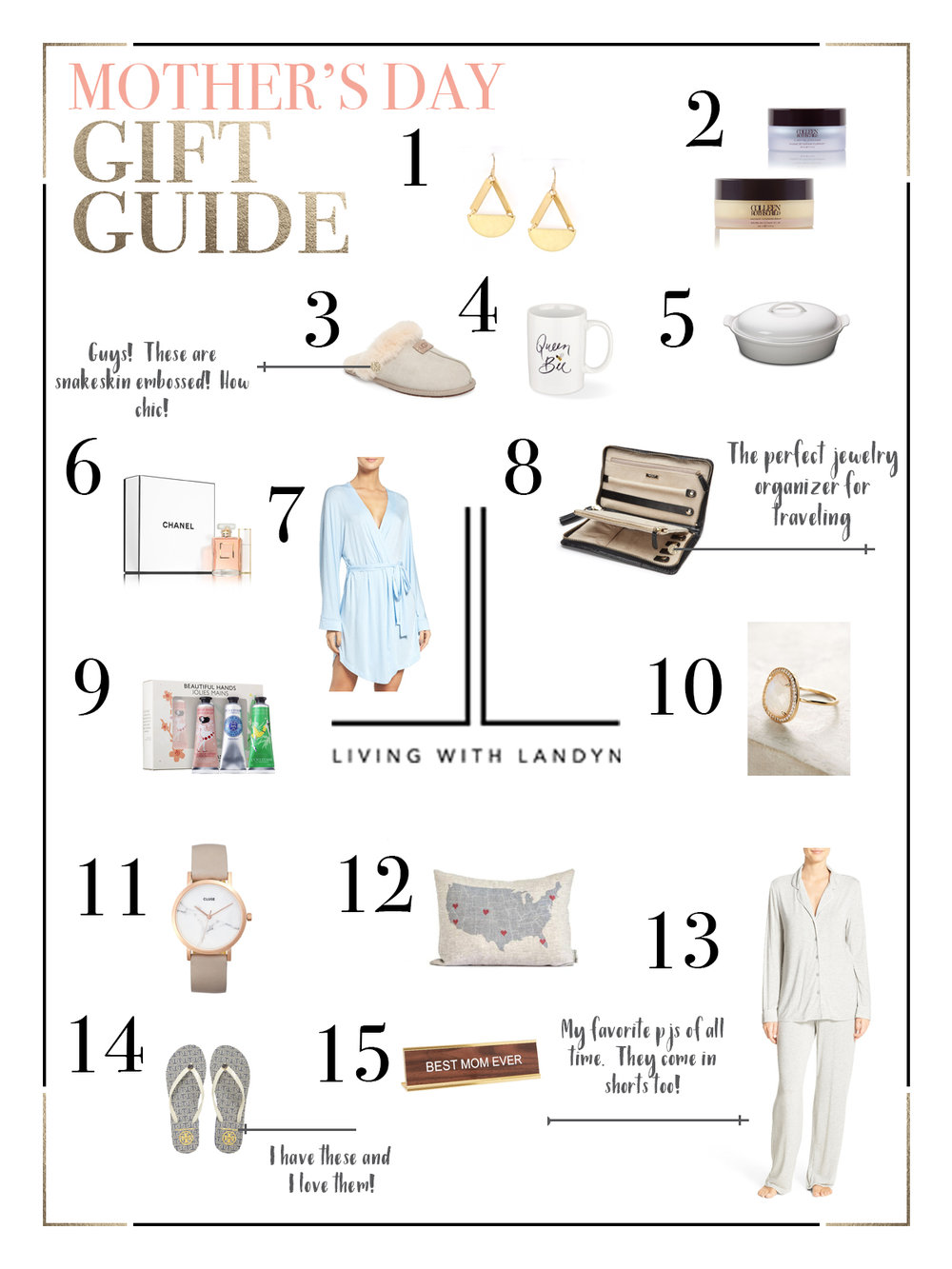 LWL MOTHER'S DAY GIFT GUIDE