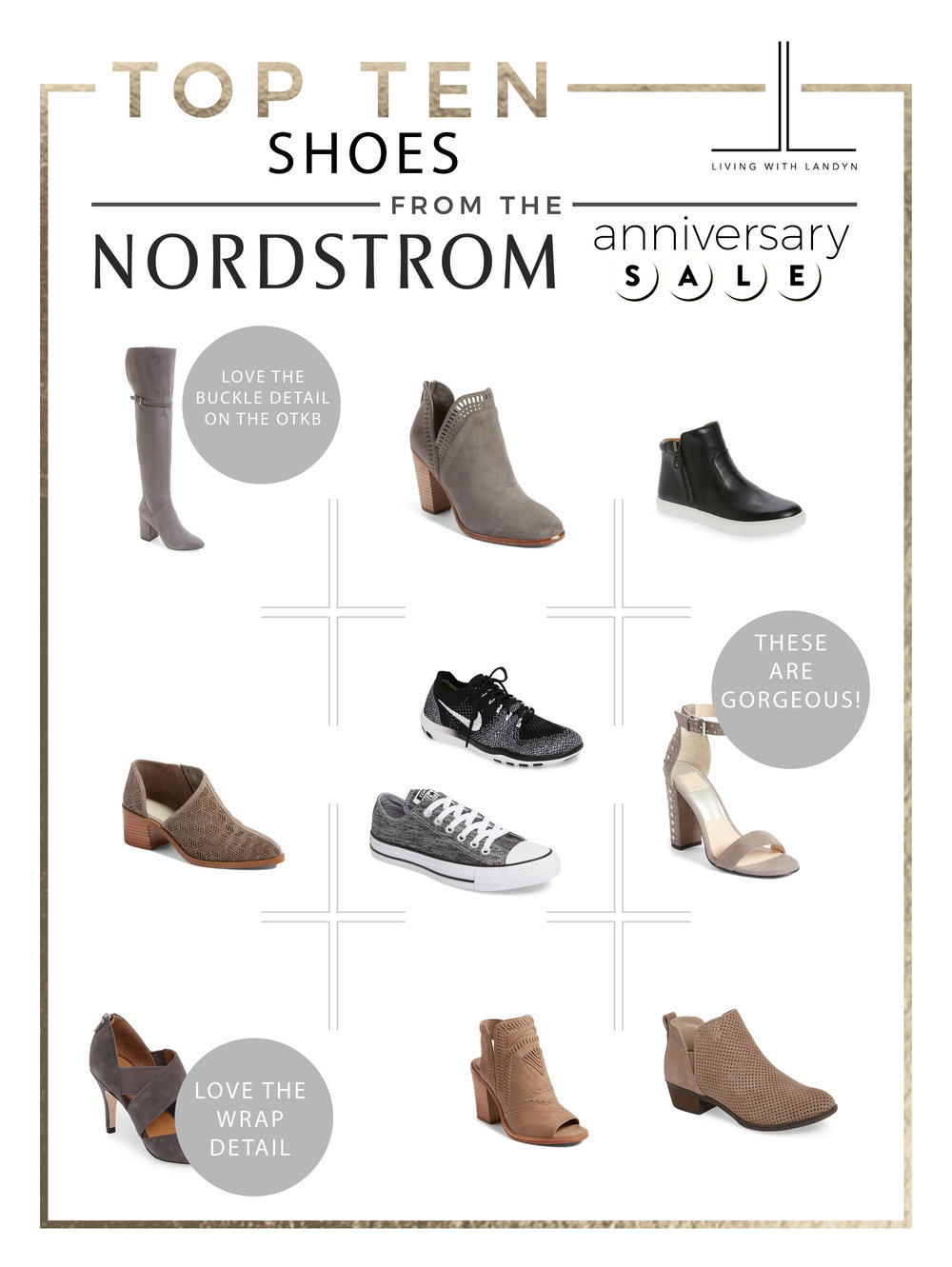 TOP 10 SHOES FROM THE NORDSTROM ANNIVERSARY SALE