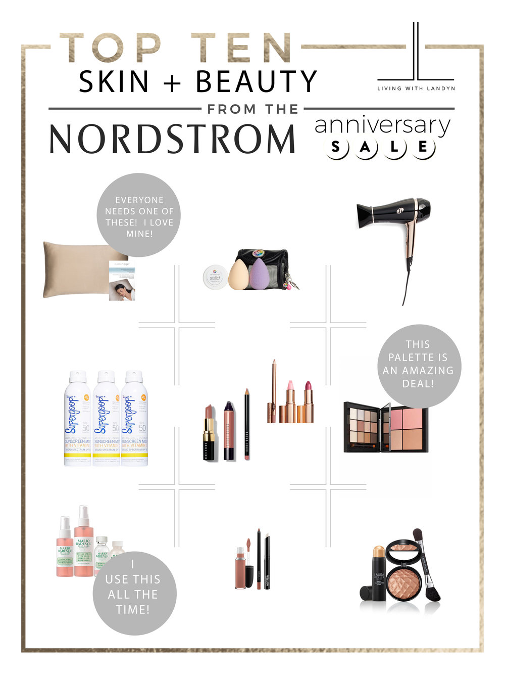 TOP 10 SKIN AND BEAUTY PICKS FROM THE NORDSTROM ANNIVERSARY SALE