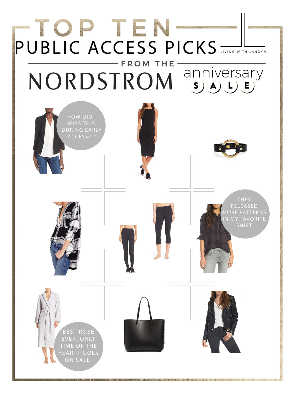 nordstrom anniversary sale public access top 10