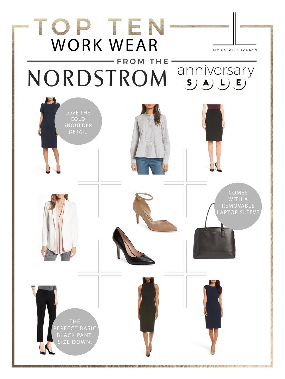 TOP 10 WORK WEAR PICKS NORDSTROM ANNIVERSARY SALE
