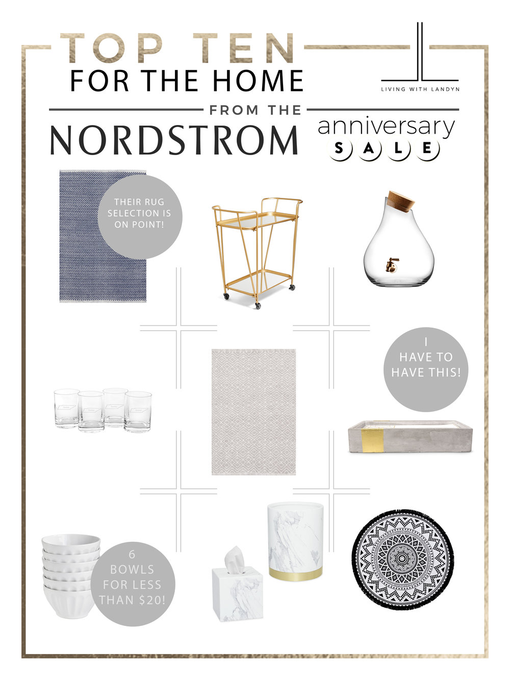 TOP HOME PICKS NORDSTROM ANNIVERSARY SALE