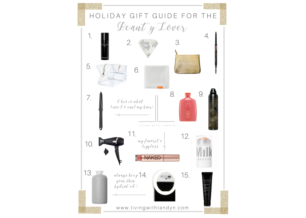 CHRISTMAS GIFT GUIDE FOR BEAUTY