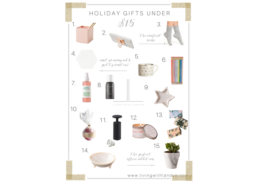 Christmas Gifts under $15