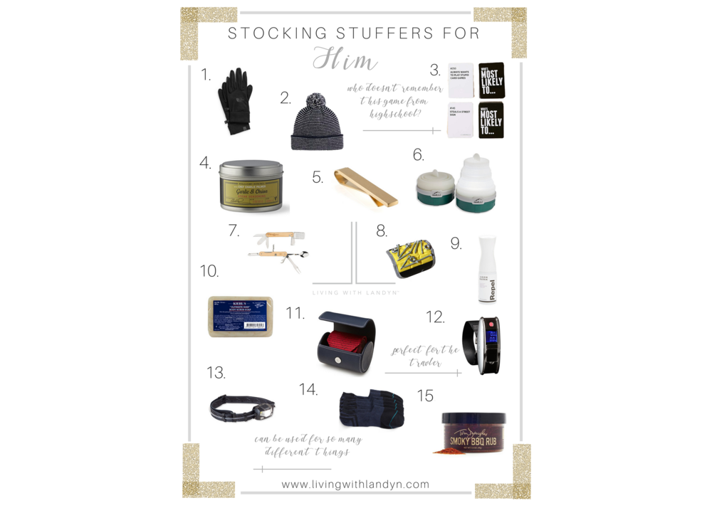 STOCKING IDEAS FOR YOUR HUSBAND, STOCKING STUFFERS FOR YOUR BOYFRIEND