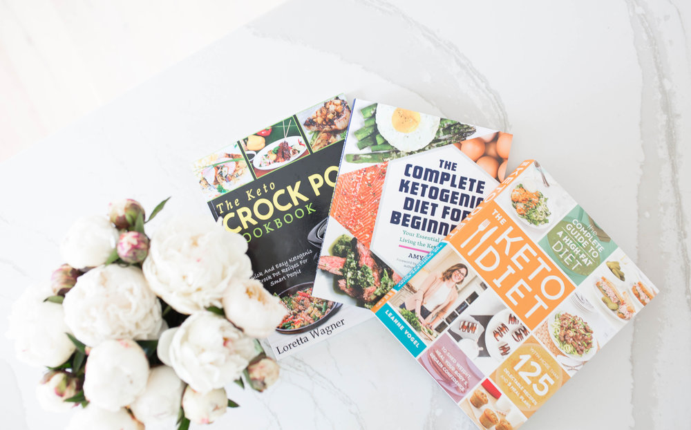my favorite keto cookbooks