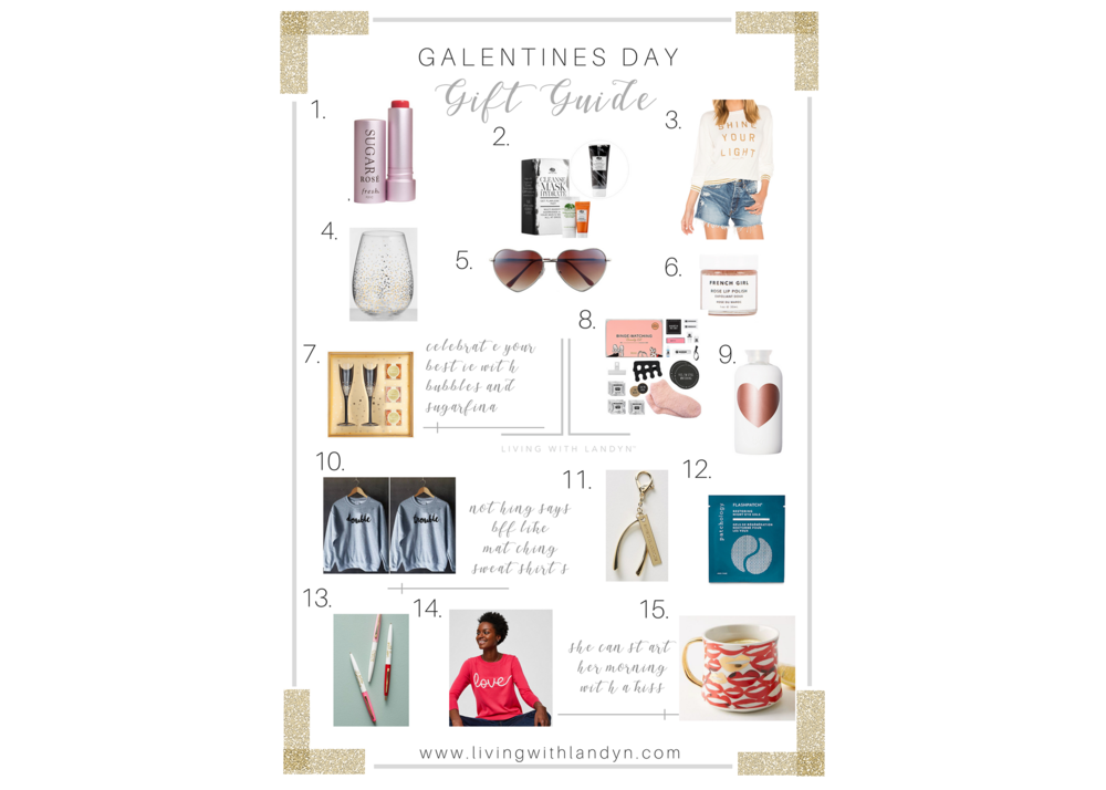 VALENTINE'S DAY GIFT IDEAS FOR YOUR BEST FRIEND, GIFT IDEAS FOR YOUR GALENTINE
