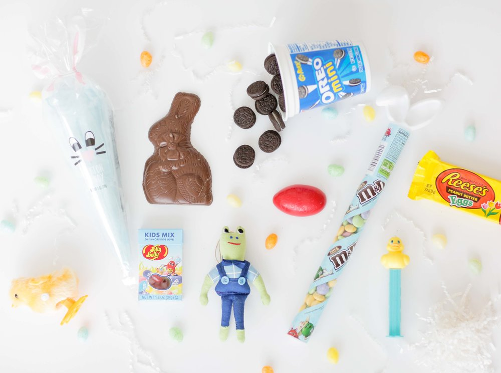 Easter basket building living with landyn gifts have changed since the kids were little and will continue to change as they get older do any of you send easter gifts to your kids in college negle Image collections