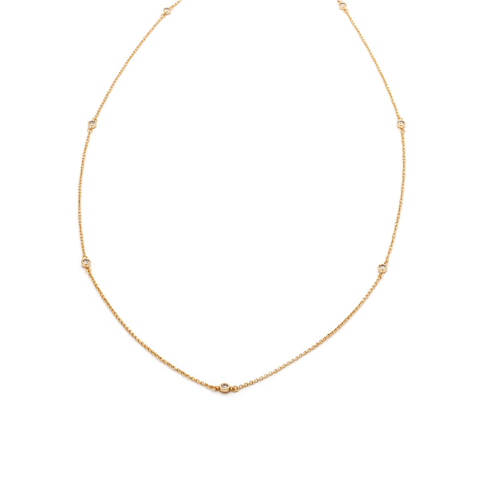 Delicate Strand Necklace $85