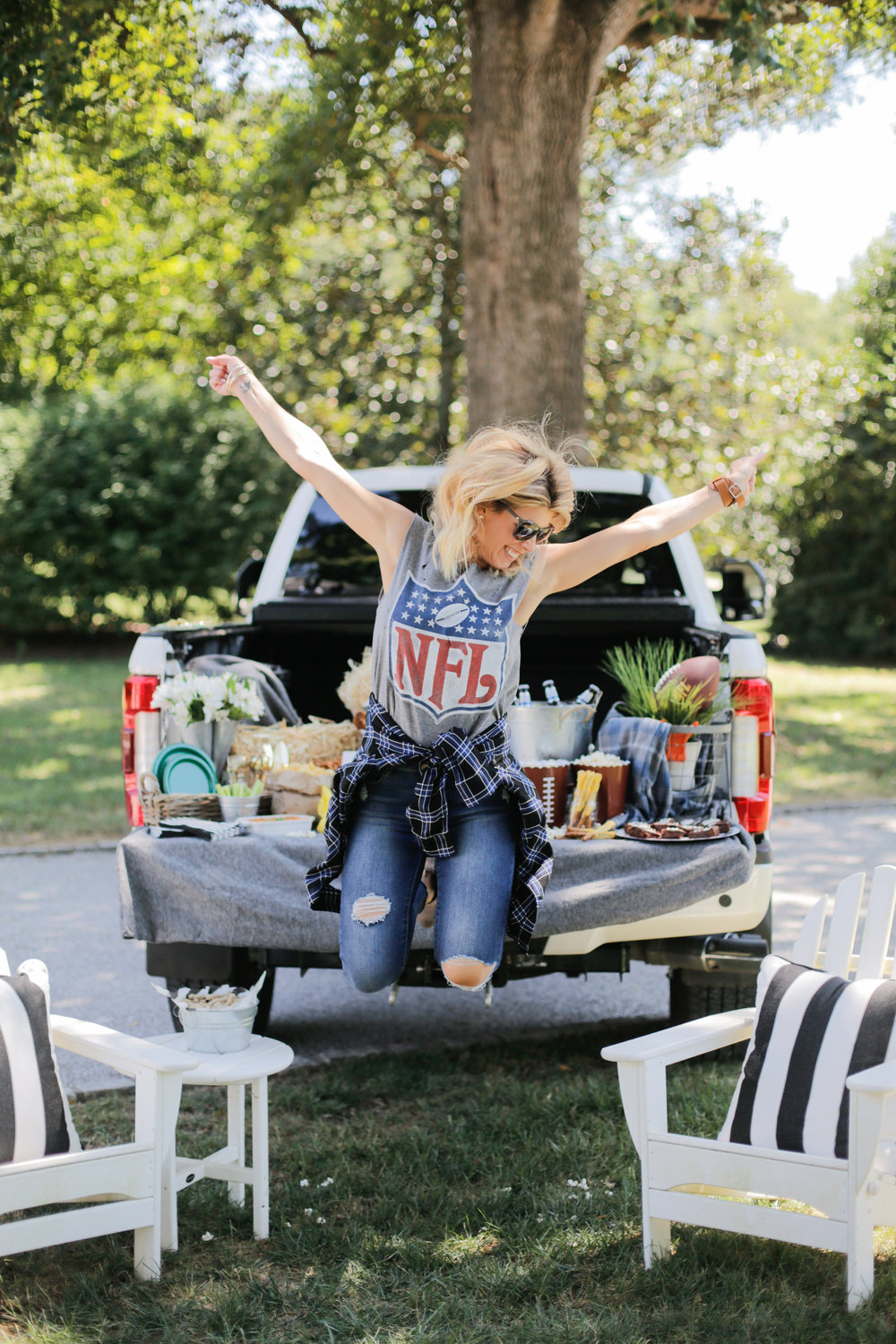 SIMPLE TAILGATE SETUP — Living With Landyn dad55bf2f