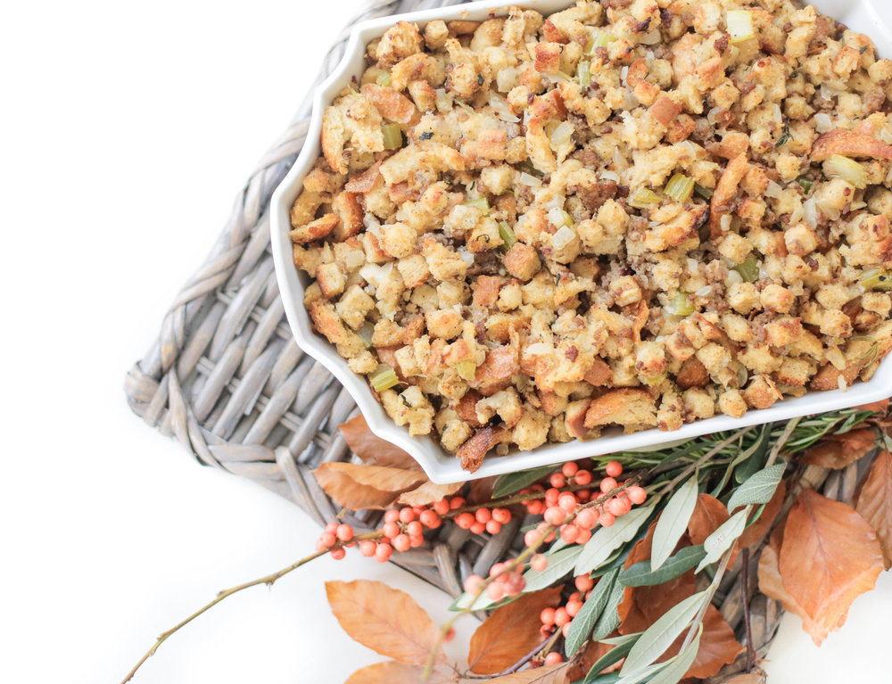 Savory Sausage Stuffing Living With Landyn