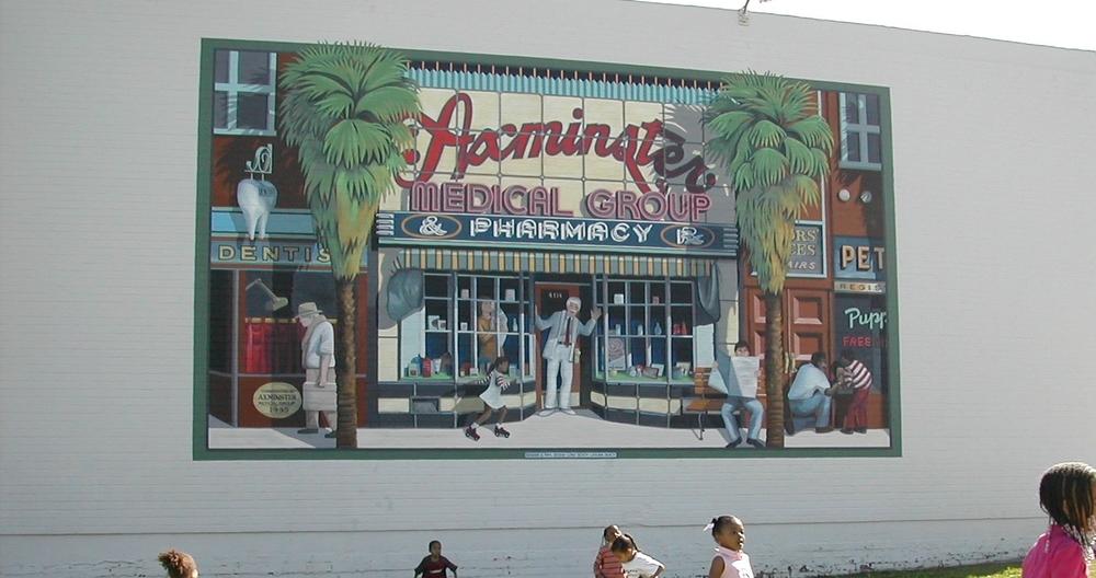 Restored Community Mural