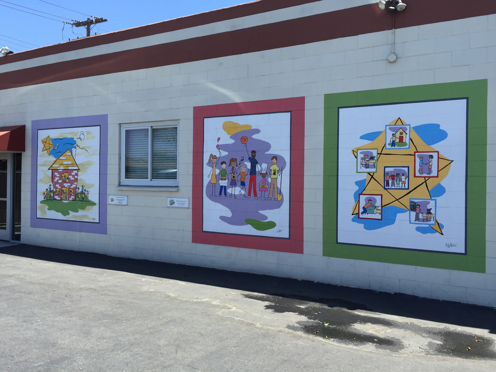 Series of Murals for Mychal's Learning Place