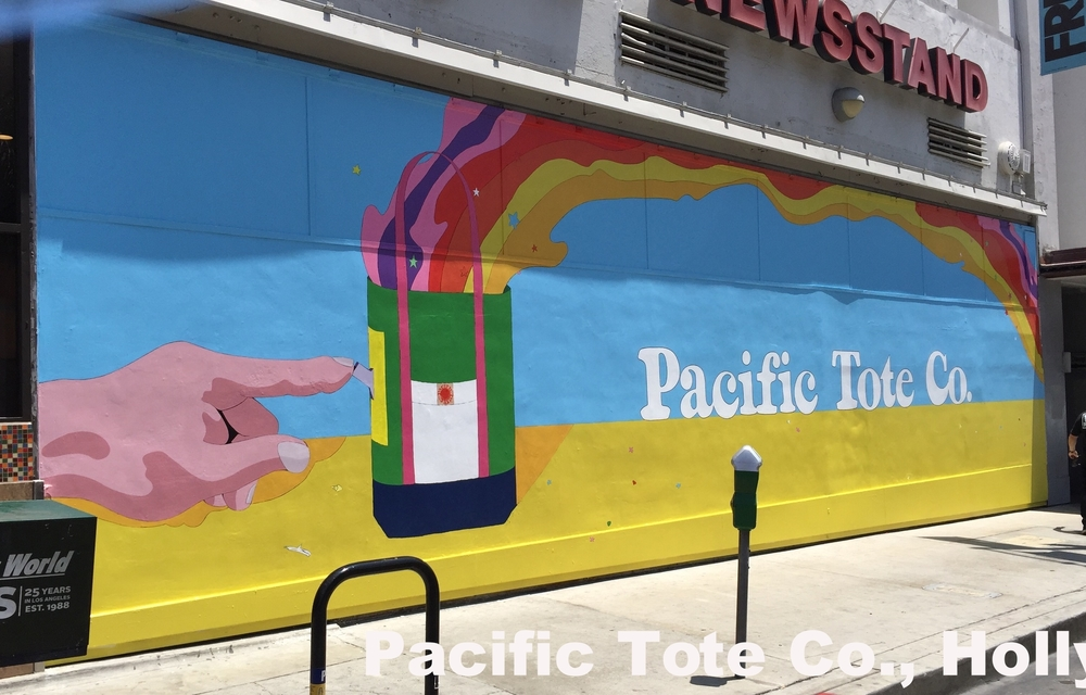 Commercial Signage for Pacific Tote Co, Hollywood