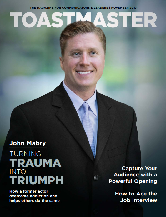 November 2017 Issue/Toastmaster Magazine