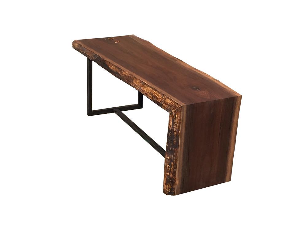 Slabbed Waterfall Coffee Table Osleeper MFG Co