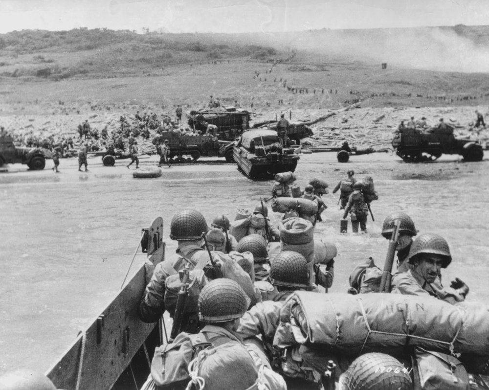 D-Day Beaches, June 6 1944