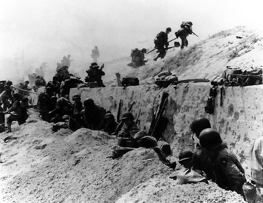 US 4th Infantry Division, Utah Beach, D-Day