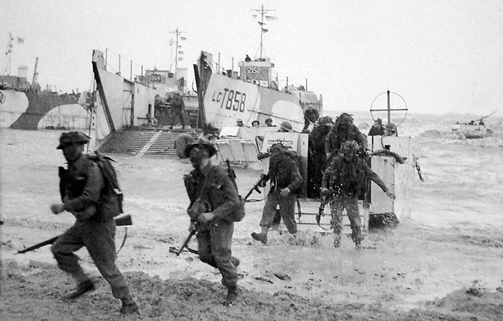 Gold Beach, D-Day, June 6 1944