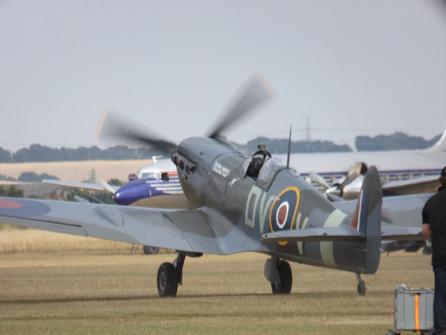 Supermarine Spitfire, Flying Legends, IWM Duxford, 2018