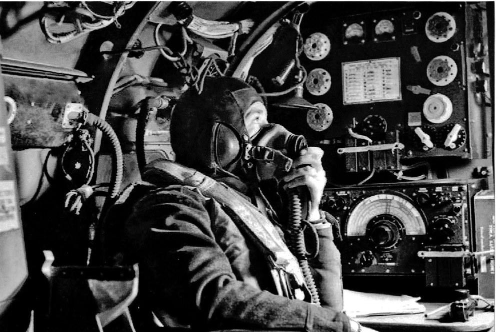 Lancaster Bomber, Radio Operator