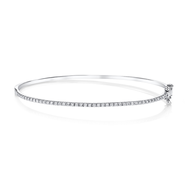 line classic by view diamond bangle romero purity in single valencia bangles w