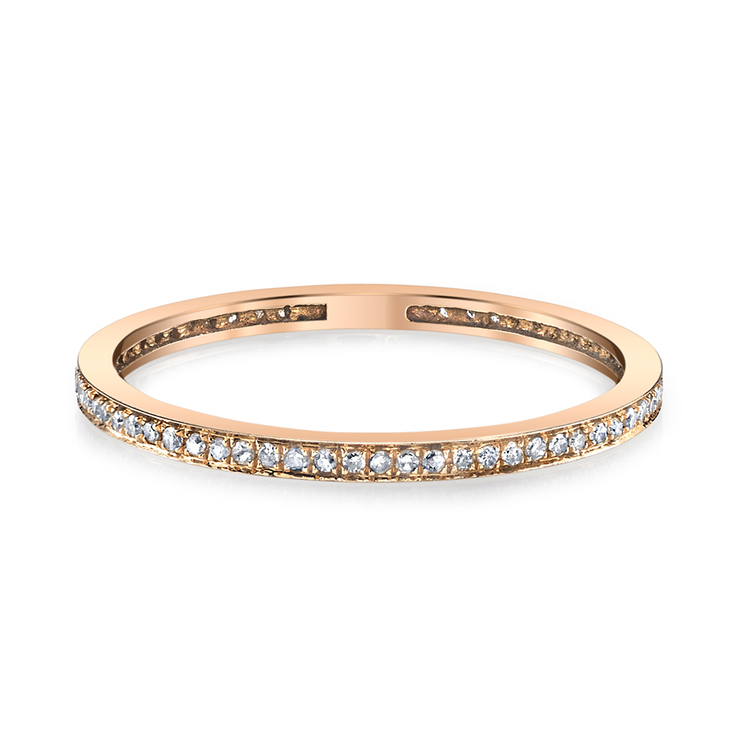 THIN PAVE DIAMOND ETERNITY BAND