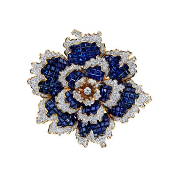 sapphire-diamond-rose-brooch